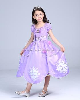 Vestidos de fiesta princesita sofia