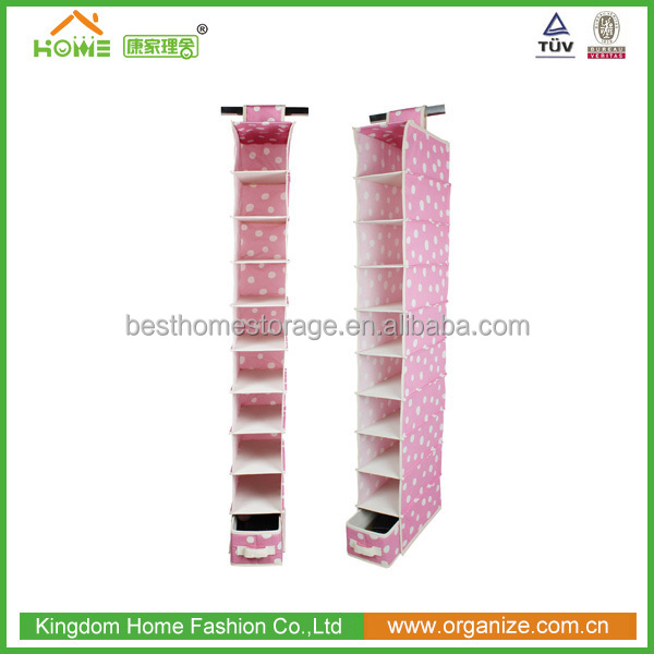 Hanging Shoe Shelves storage organizer Non woven Fabric Material Cheap Wholesale Price