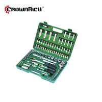 CROWNRICH 94 PCS SOCKET TOOL SET CAR REPAIR CAR KIT