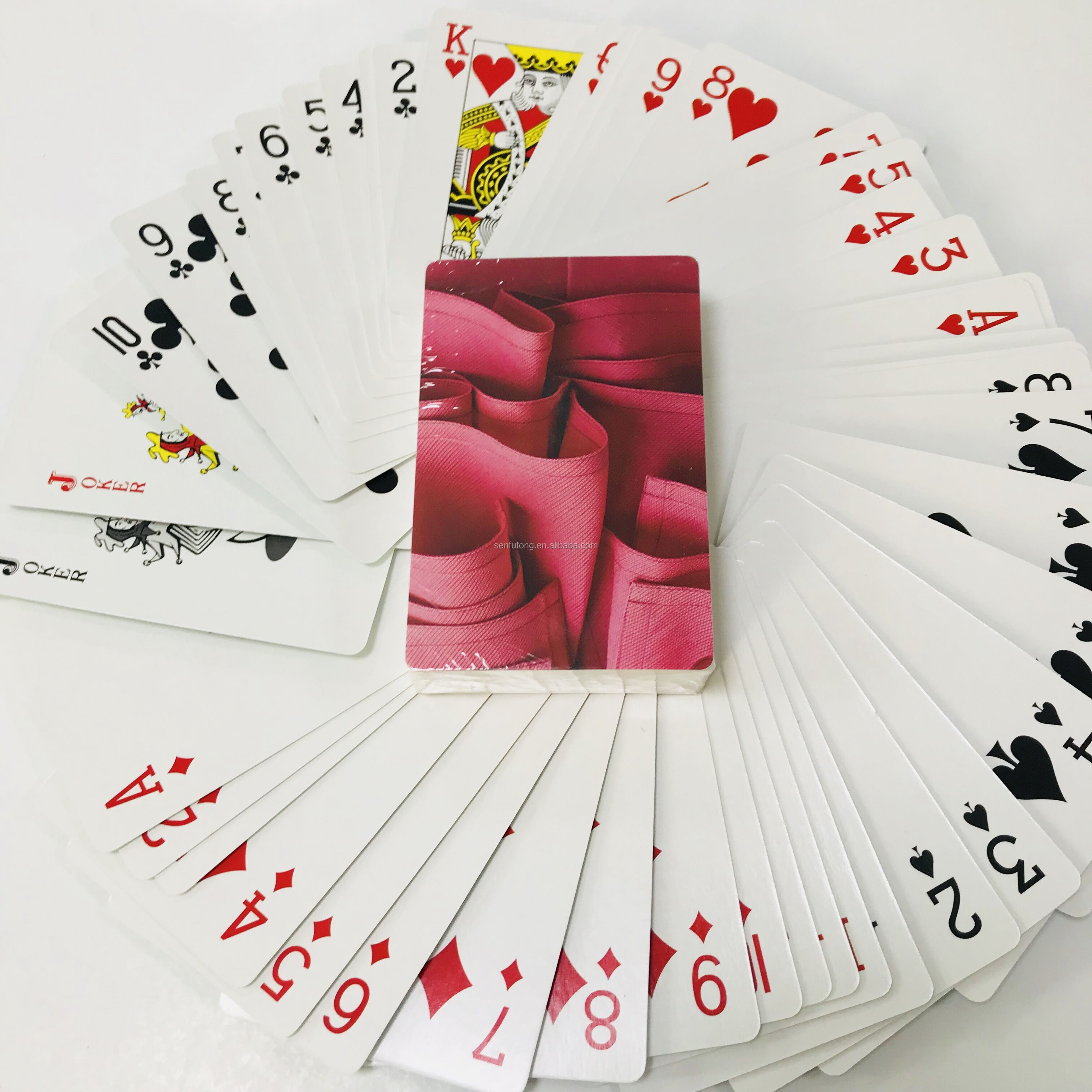 Customized Good Quality Poker Playing Cards With  Professional Service