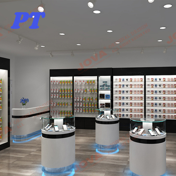 New mobile phone store furniture design for mobile shop for Mobile furniture design