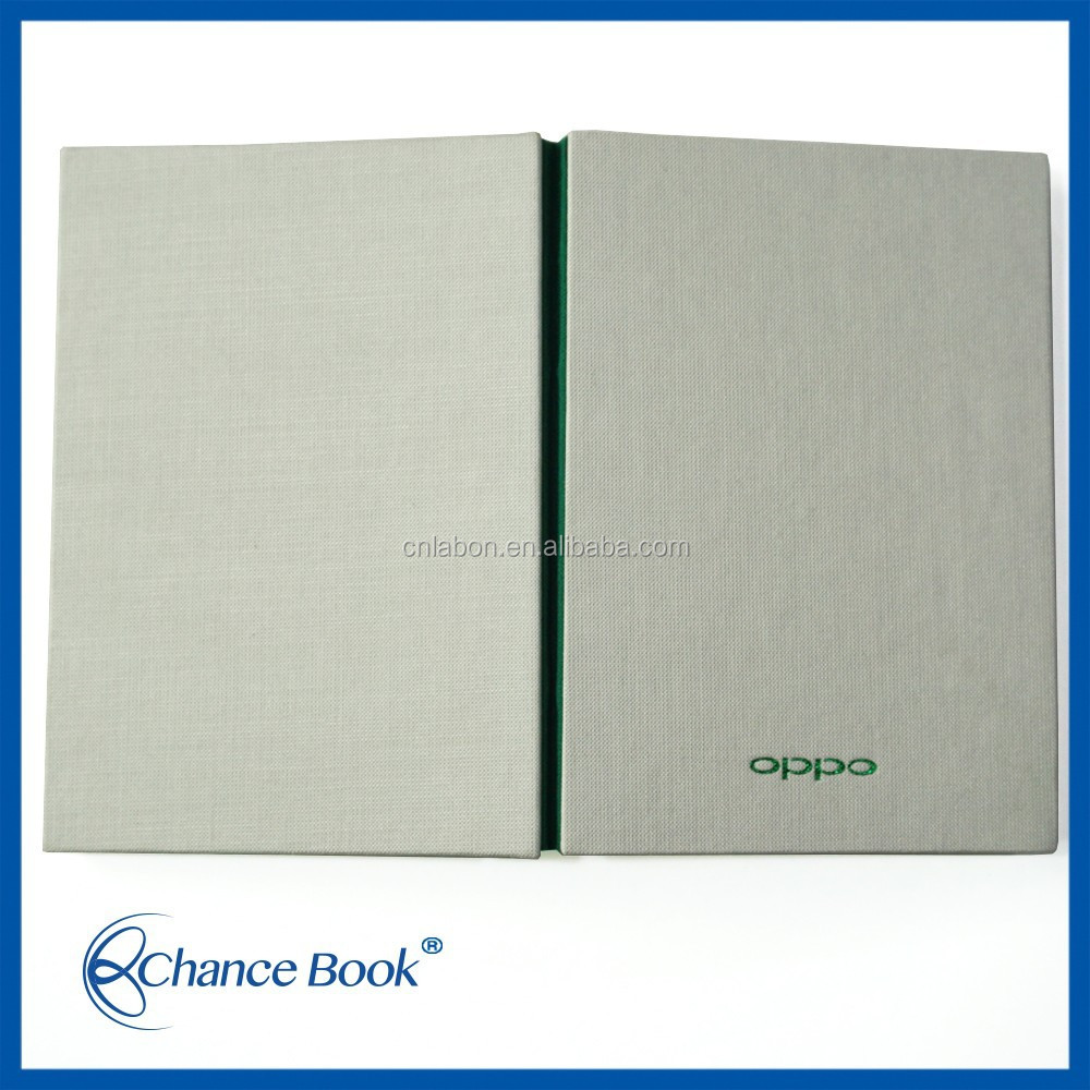 high quality linen bound notebook personalised blank hardcover books manufacture