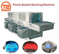 Factory Supply Washing Machine For Plastic Box/Plastic Basket Washer Manufacture