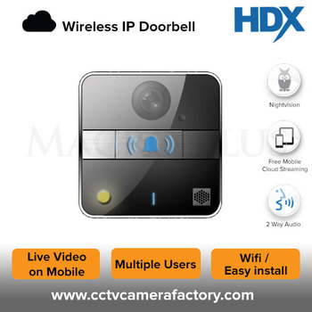 Wifi Doorbell Ip Camera - Buy Ip Wifi Doorbell,Wifi Doorbell Camera,Smart  Doorbell Product on Alibaba com