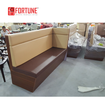 New Design Luxury Leather Curved Sofa Booth For Coffee,Tea  Restaurant(foh-ck73) - Buy Luxury Restaurant Sofa Booth,Curved Sofa  Booth,Coffee Sofa Booth ...