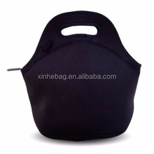 Professional custom blank christmas gift neoprene lunch tote bag for promotion, logo as required