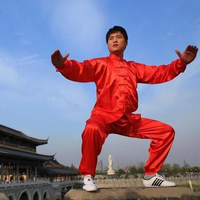 Long Sleeve Loose Tradition Chinese Martial Arts Wear Kung fu Clothing