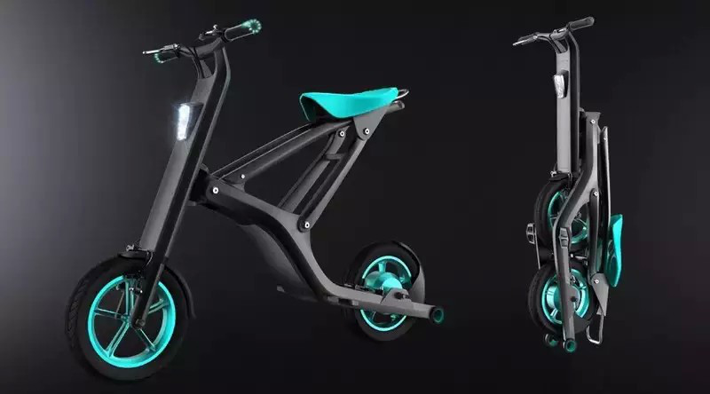 Foldable Yunbike X1 E Bike Buy Foldable Ebike Foldebike