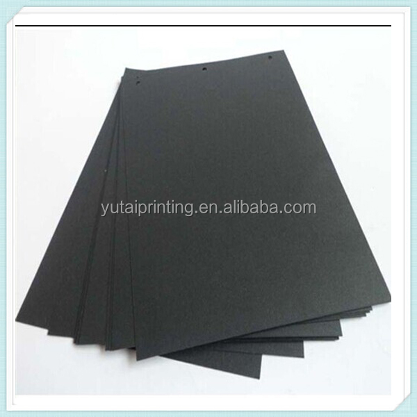 Black Paper,100% Wood Pulp Material,A4 Size 300gsm Art Board
