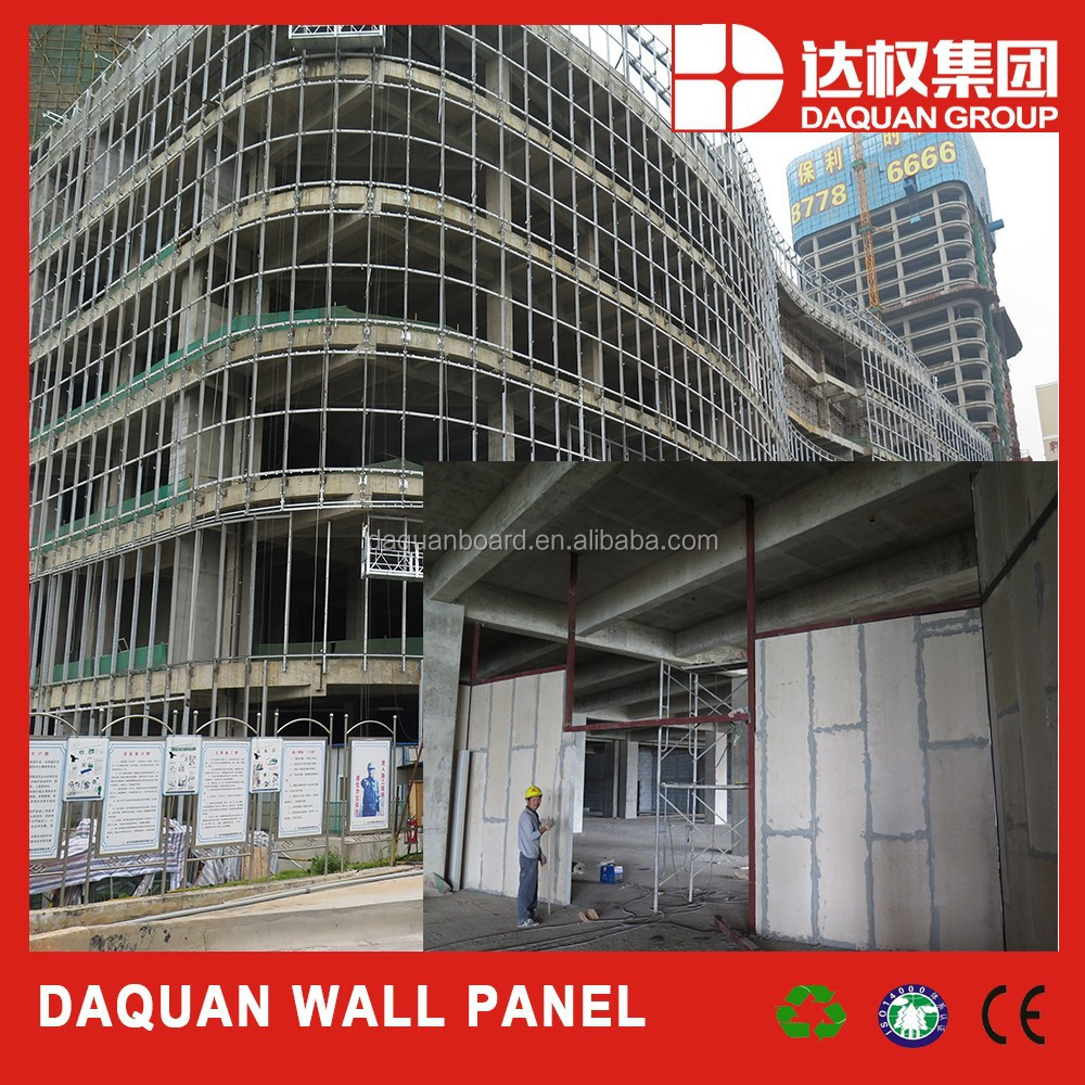 2015 Hot Sale Luxury Highrise Office Building Patition Wall Eps Cement Panel