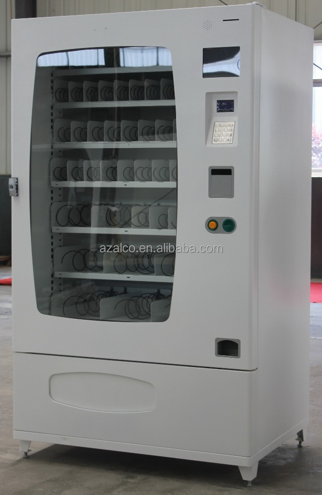 Snack and drink vending machine