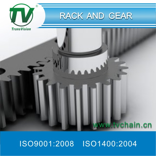what is a rack and pinion gear used for