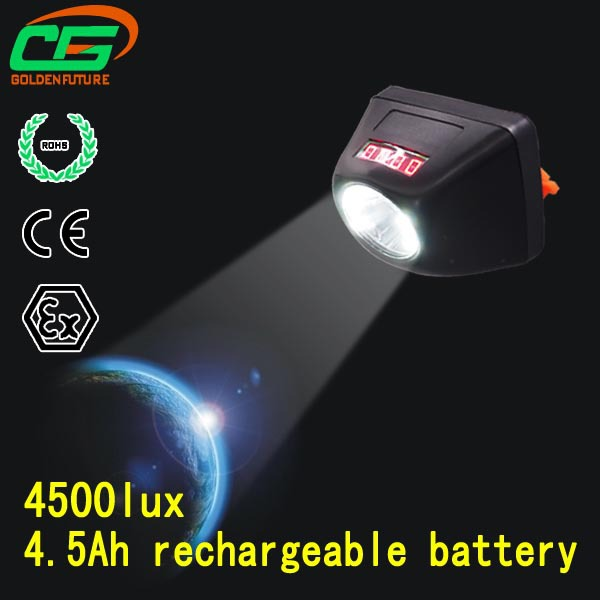 4.5ah Rechargeable Mining Led Hard Hat Light