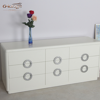 Custom Made Modern Style White Solid
