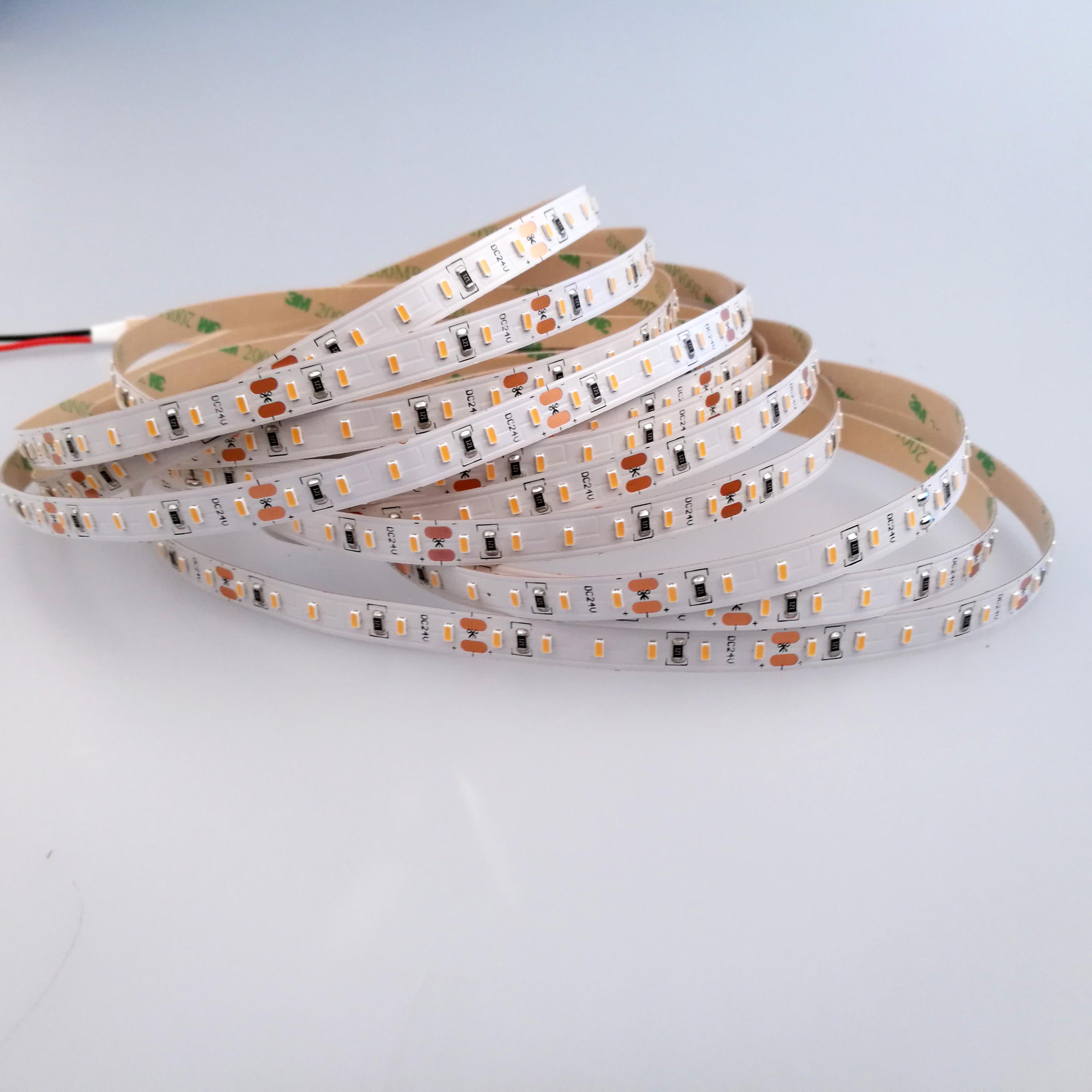 Price list of 3014 led strip dc 12v 24v smd3014 led strip light