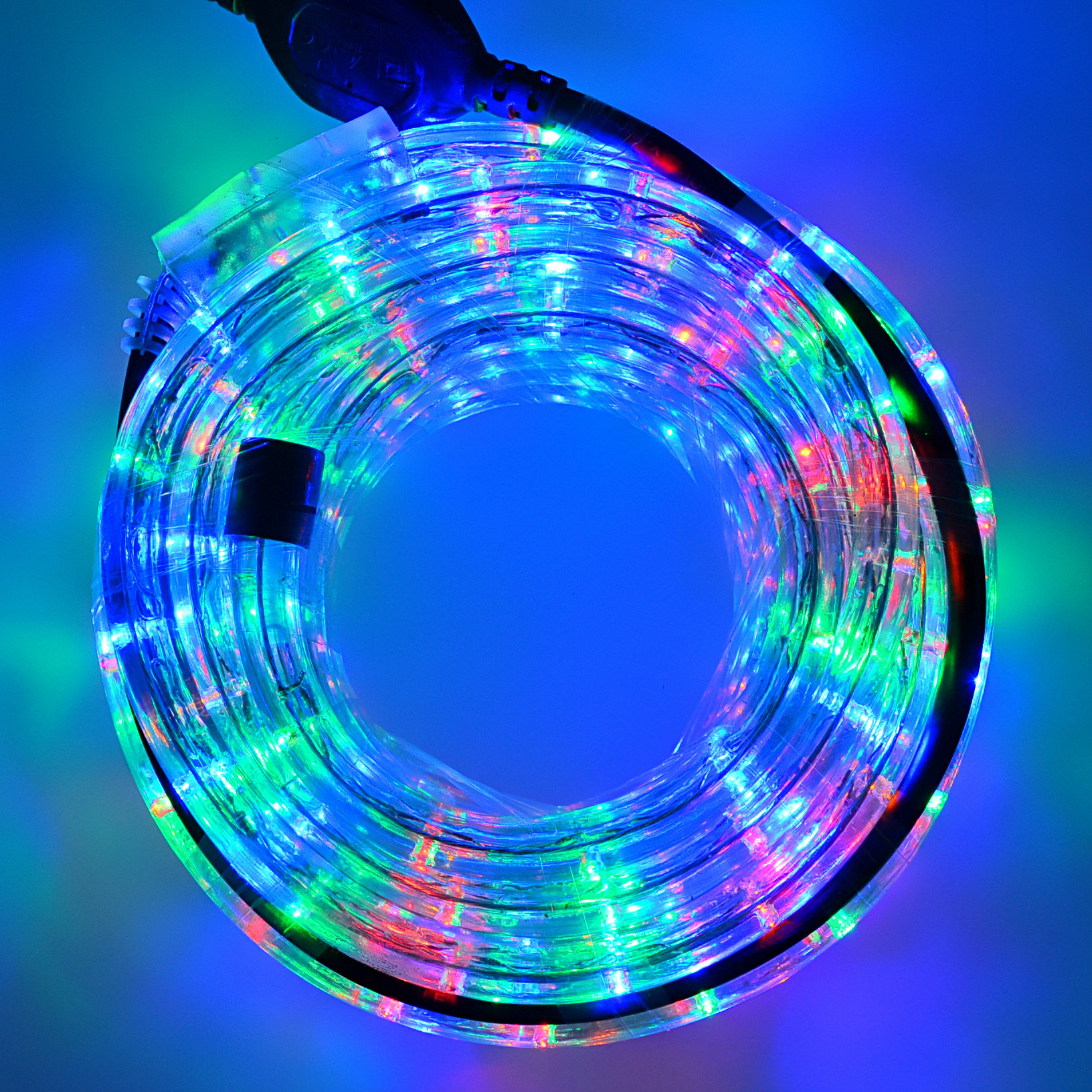 X'mas outdoor decoration 2 wire diameter 13MM round strip 110V/220V dimmable flex led rope light