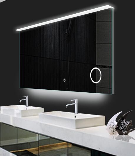 2016 New Design Bathroom Acrylic Lighted Illuminated Mirror With ...