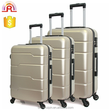 ABS with PC special finishing travel trolley hard luggage