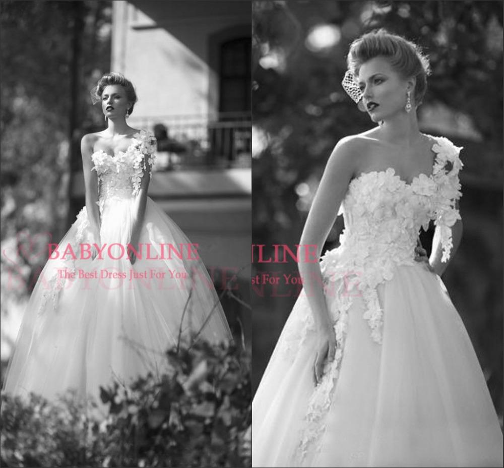 Wedding Ball Gowns 2014: Hotsale! Romantic Vintage Ball Gown Wedding Dresses 2014