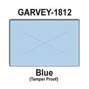 280,000 Garvey 1812 compatible Blue General Purpose Labels to fit the G-Series 18-5, G-Series 18-6, G-Series18-7 Price Guns. Full Case + includes 20 ink rollers.