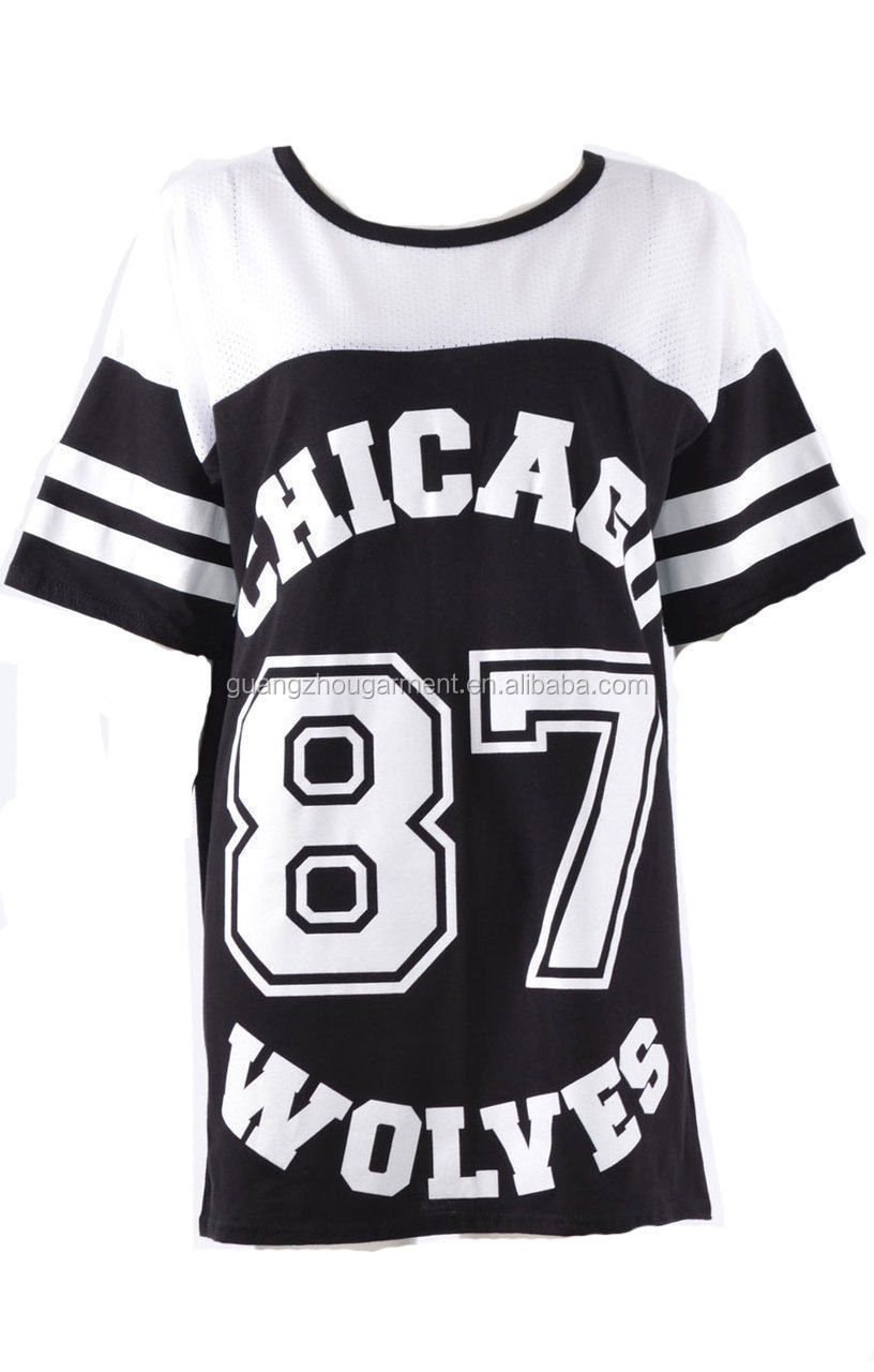 number printed sport dresswoman wear casual dresst shirt