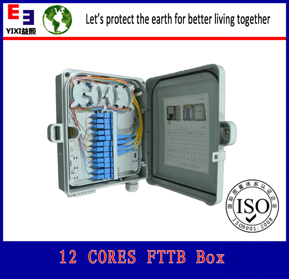 FTTX / FTTB / FTTH project fiber termination box FTB 8 PORT