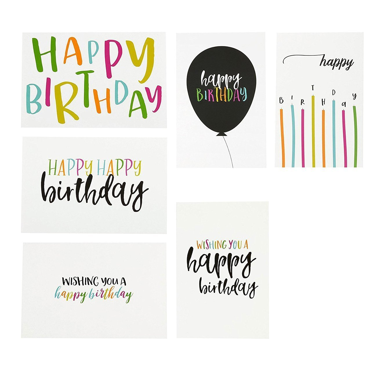 Factory Directly Wholesale Beautiful Colored Custom Birthday Greeting Card