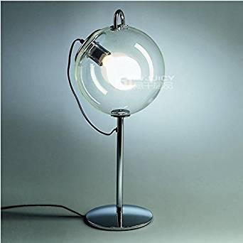 Injuicy Lighting Modern Nordic LED Glass Desk Light Table Lamp Soap Bubble Loft Hall Home Decor (#A)