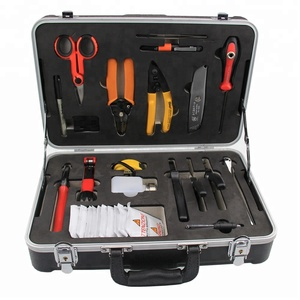 lowest price Universal Optical Fiber Fusion Splice Tools Kit