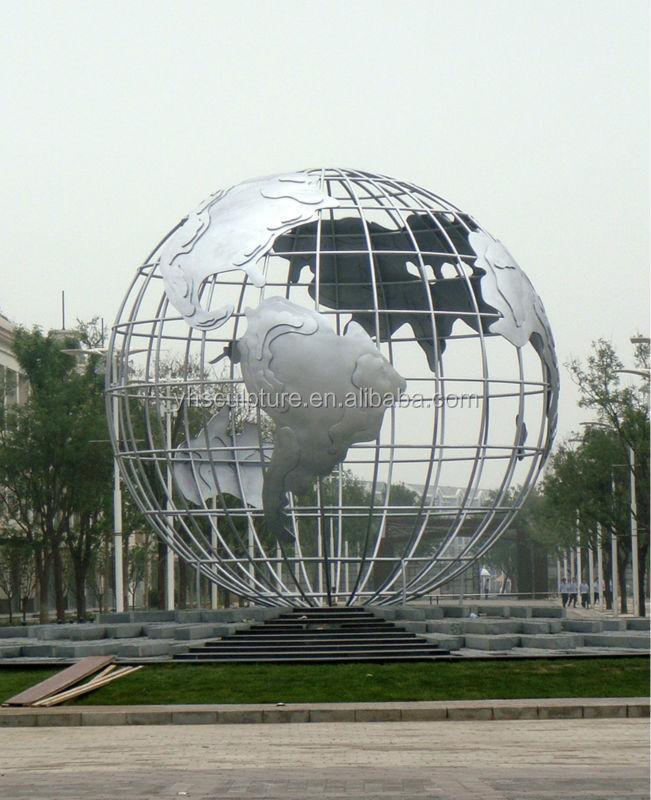 Garten globus skulptur metall kunsthandwerke produkt id 1889903885 - Skulptur metall garten ...