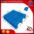 China supply welded solid deck plastic pallet blue warehouse storage euro pallet 1200x1000