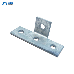 OEM aluminium corner brackets with 4 holes
