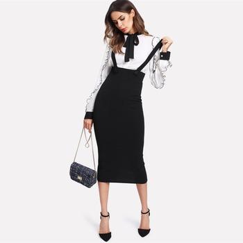 Black Pencil dress 60s style