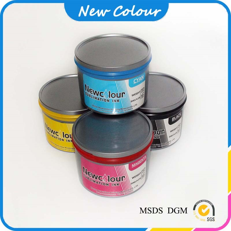 non-cracking sublimation offset heat transfer ink