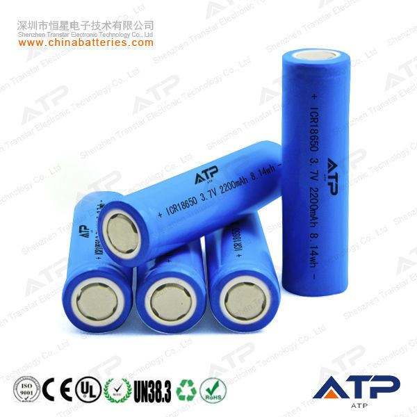 Best Selling!! 18650 Li-ion Battery Cell 3.7v 2.2ah / 18650 ...