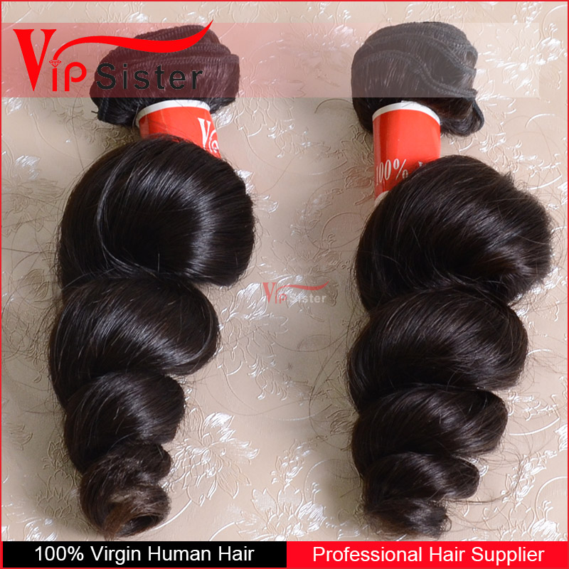 2017 vipsister how to style brazilian hair weave 100% virgin hair and wholesale price healthy ends 100% hair weft loose wave