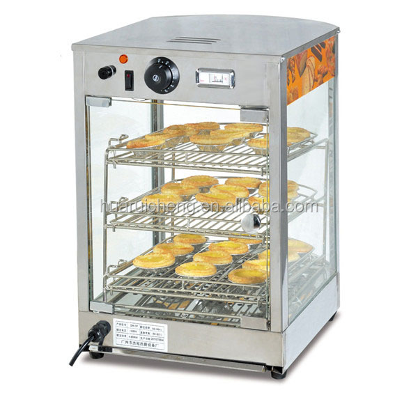 fast food kitchen glass electric food warmer cabinet - buy