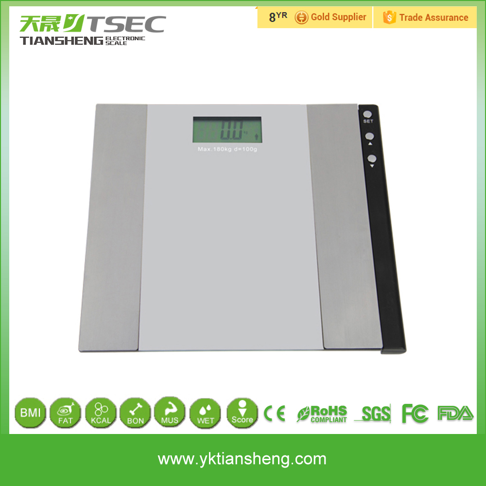 Factory Price Digital Height Weight Glass Bath Talking Bathroom Scale