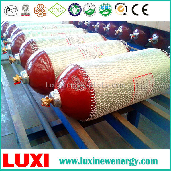 Composite Ngv Cylinder Tube Bundle Gas Cylinder , Hydraulic Cylinder Manufacture