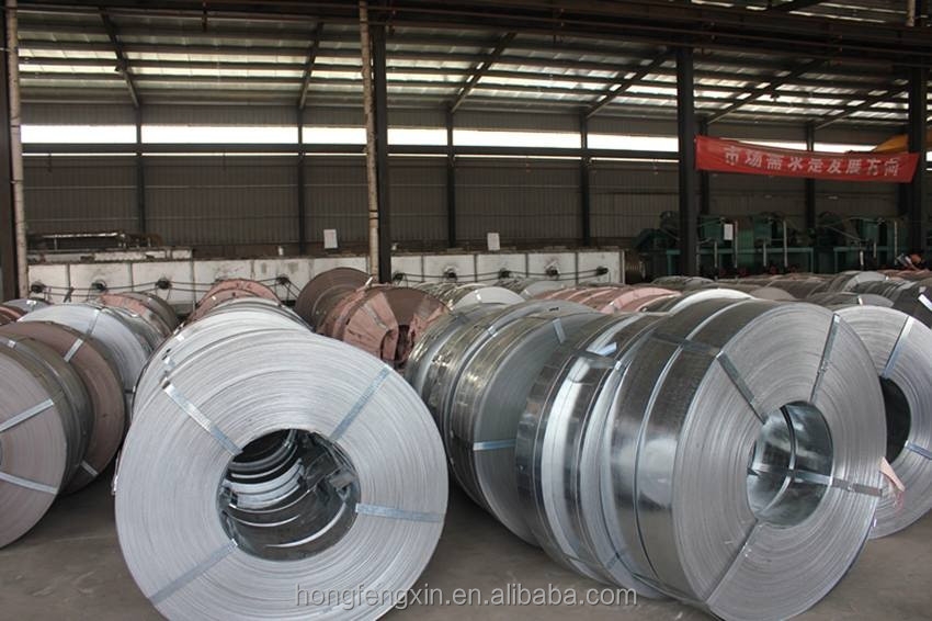 Hot Dipped Zinc Coated Steel Strips