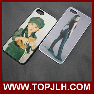 High Quality Rubber For iphone 5 5c 6 Silicone Sublimation 2D Blank Black Phone Cases Cover