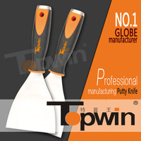 Topwin hardware tool plastic handle carbon steel scraper