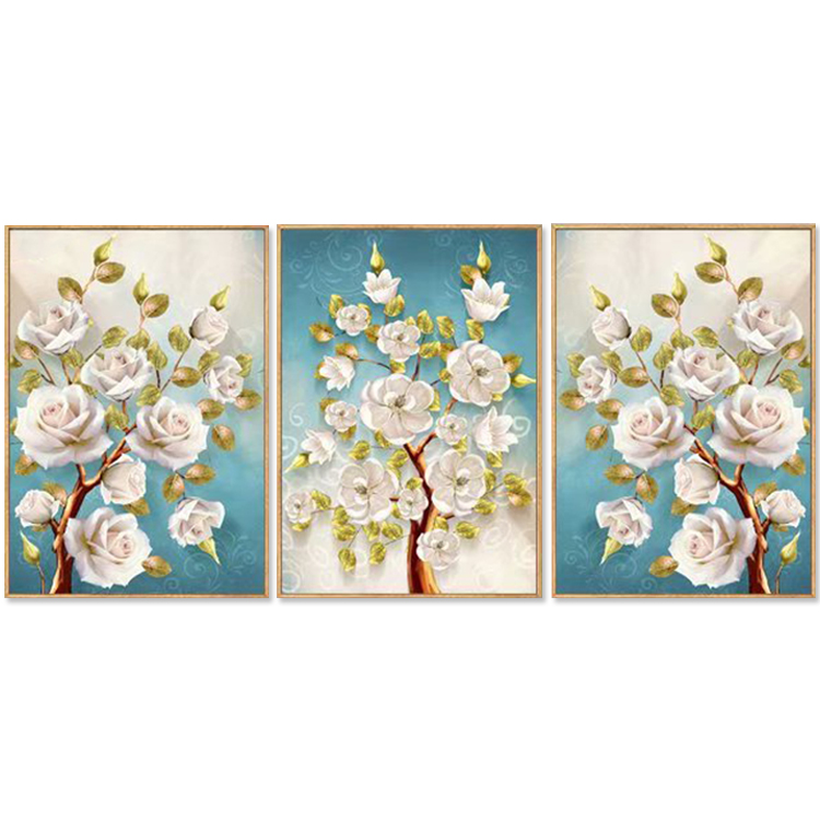Wood Frame Painting Small Sign 15x20cm Stretched Canvas 280gsm