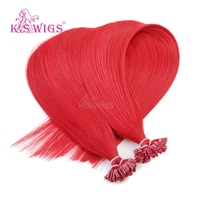 keratin u tip hair extension brazilian virgin human hair factory very good price