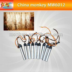 3M 30S cold fireworks smokeless no smell stage waterfall indoor fireworks for wedding for sale(MW6012)