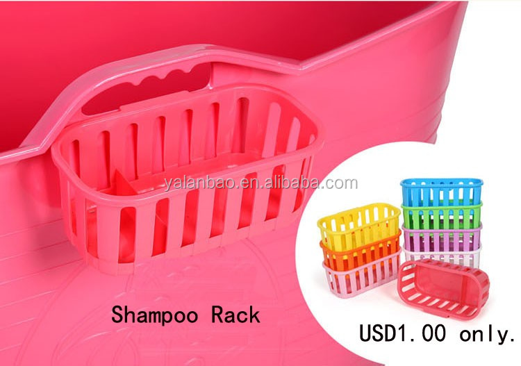 food grade PP material, safety, environmental protection, without any odor, plastic PP5 bathtub