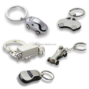 Ex-factory price cheap custom metal keychain car shaped keychain car  keychain