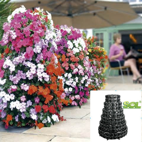 Self Watering Pots Vertical Garden Products Vertical Tower Garden Systems