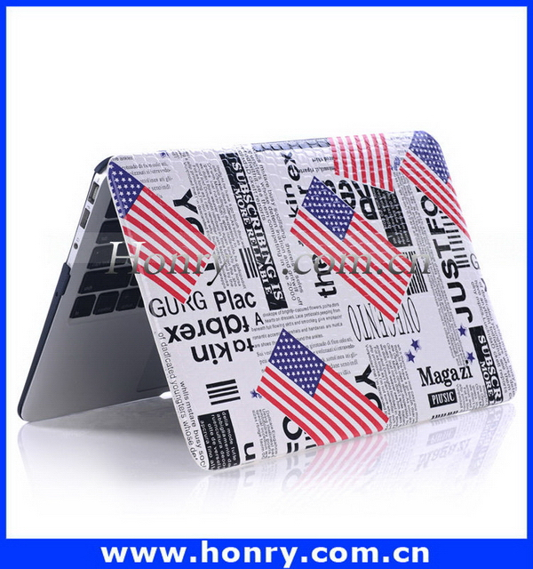 Designer promotional hard cover case for macbook pro a1342