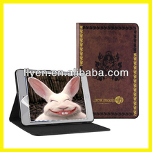 Retro Series Classtic Book Case for iPad air/4/3/2/mini Folio PU Leather Smart Cover W/Stand The Vampire Diaries Pattern